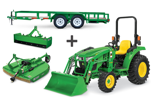3043D Tractor Package